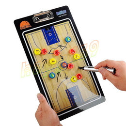 hot Outdoor PVC Soccer basketball Coach Match Training Tactical Plate Coaching Board Kits magnetic teaching board Coach Board