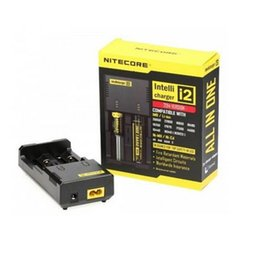 Nitecore I2 Universal Intellicharger Charger for 18650 14500 16340 26650 Battery Multi Function Charger with Charging Cable & Retail Box DHL