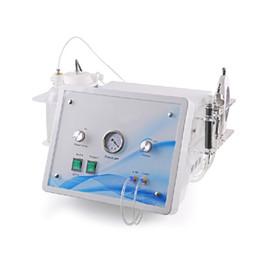 Wholesale 4 in Ultrasonic Skin Scrubber Oxygen Jet Water Hydro Dermabrasion Diamond Peel Microdermabrasion Oxygen Spray For Anti Aging Spot Removal