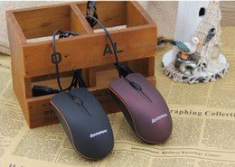 Newest Lenovo M20 mouse mini Wired 3D Scrub Optical USB Mouse For Computer Laptop DPI 1000 Free DHL