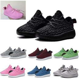 Wholesale 2016 Baby Shoes Running Sports Shoes Kids West Boost Sneakers Booties Toddlers Shoes Brand Cheap Boys Girls Training Shoes Branded