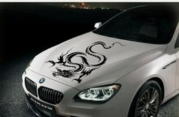 Wholesale Car sticker modified car stickers hood post dragon totem F0 roof cover stick machineCar sticker modified car stickers hood post dragon totem
