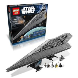 Wholesale 3208pcs LEPIN Legoelieds Building Blocks Star Wars Imperial Star Destroyer Model action Minifigures Bricks Kid Baby KIT Toys
