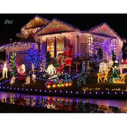 100M 600 LED Lights Party Lights Led Christmas Lamp Decoration Wedding Party Twinkle String Light 220V EU plug