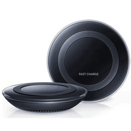Wireless Charging Pad Support Fast Charge Quick Charger Generation 2nd for Samsung Galaxy Note 5 S6 with logo