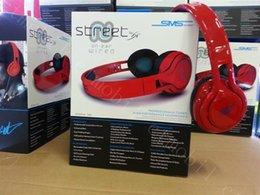 Promotion rue sms via un casque d'oreille 50 Cent Noise Cancel Headset Earphone SMS Audio STREET Over Ear Headphone pour les 6s, plus hbs 800 bord iphone samsung S6