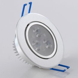 Wholesale LED Ceiling Light White Shell W5W7W9W Downlights White Warm White Led Ceiling lighting Energy Saving Led Lamp The Use of Voltage100 V