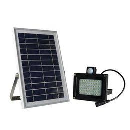 54 LED PIR датчик движения Солнечный прожектор Открытый водонепроницаемый сад улица дорога свет лампы с 5M кабель 6В 6W панель солнечных батарей от Производители панели солнечных дорог