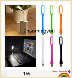 YON USB led light 1W White light soft led bulb flexible light lamp 5V led lights with USB for computer power bank