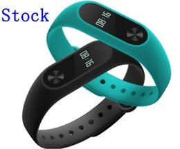 Wholesale Original Xiaomi Mi Band OLED Screen Touch Operation New Bracelet Better Algorithm Pulse Heart Rate IP67 days