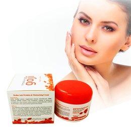 Wholesale Hyaluronic acid goji face cream Chinese wolfberry medlar multi effect anti wrinkle cream Inhibit the activity of tyrosinase DHL free