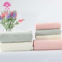muchun 2pcs set Micron Super Soft Anti-slip Polyester Terry Face Towel 35*76cm Chinlon Double-sides Weaving Shower Bath Spa Towel 75cm*150cm