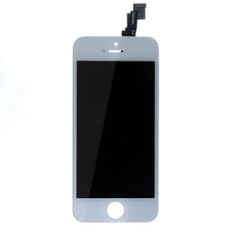 White LCD Display+Touch Screen Digitizer Assembly Replacement for iPhone 5S New