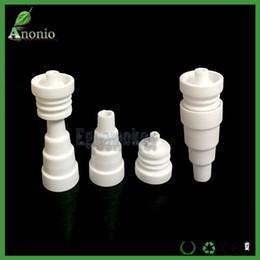 Wholesale Factor Price per in Domeless Ceramic Nail mm mm mm Male Female Joint Ceramic Nails VS Titanium Nail Free DHL