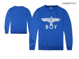 Wholesale Selling Boy London - 2016 new hiphop men and women long sleeve tshirt boy london shirt hot sell hip hop o-neck plus size s-xxl regular sleeve