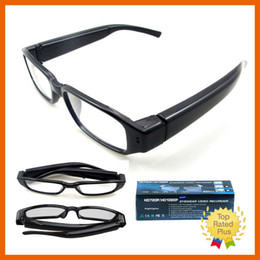 720P 1080P HD Digital DV DVR Recorder Camcorder Camera Cam Spy Hidden Glasses without Micro Sd Card With Fancy Package