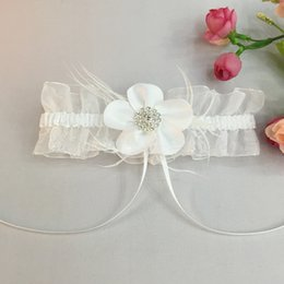 Wedding Garter Set Crystal Pearl IVORY Shabby Flower Wedding Garter Set The Bride Wedding Accessories The Garter Wedding Garters Silk Garter