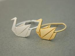 2016 new fashion women's ring ring cranes swan adjustable ring animals girl 10 PCS many women festival best gift