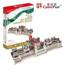 Wholesale The latest annual weight section Authentic joy cubicfun D puzzle paper model jigsaw toy MC111H Hungarian Government Building