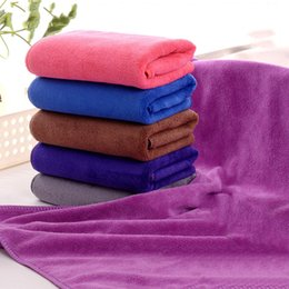 Wholesale Manufacturers nanometer superfine fiber hair shaft grinding hair towel beauty salon barber shop towel towel suction bag mail