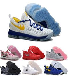Wholesale High Q Kd VI Basketball Shoes Cheap Kd9 Running Kevins Kds Brand Durantes Lowe Elites Black Durant Men Original Basket Femme Trainers
