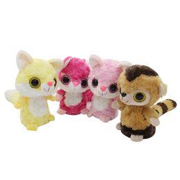 Wholesale Li l Sweet And Sassy Animated Big Eyes Beanie Boos Talking Repeat Motion Plush Stuffing Lemur Interactive Funny Animal Toys