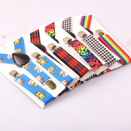 Wholesale Swallow Gird Clip on Y Back Suspenders Elastic kids Baby Boys And Girls Braces