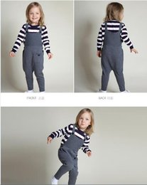 Wholesale 2016 New cute INS colors knitting sweaters for kids cotton overalls baby overalls kids overalls baby boy girls winter MC0319