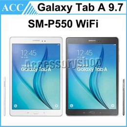 Wholesale Refurbished Original Samsung Galaxy Tab A S pen SM P550 P550 inch GB Wifi Quad Core Android Tablet