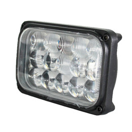 Wholesale Auto Part W inch Square Spot Flood Beam Led Driving Offroad Work Lights For Tractor ATV Excavator Equipment Headlight
