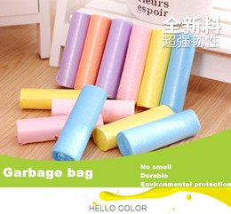 Wholesale Safe non toxic garbage bag rubbish bag colors waste bins No smell durable Health and Environmental Protection