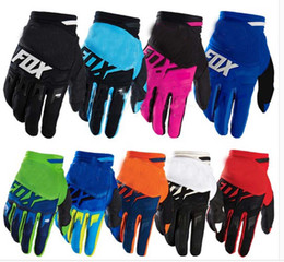 Wholesale 2016 fox gloves off road racing bike gloves road mountain bike non slip breathable motorcycle gloves