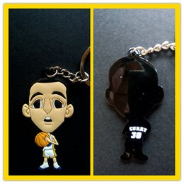 Wholesale Miniverse Cartoon Funny Basketball Star Golden Warriors Stephen Curry Doll Diy PVC CM CM Keychain Prices White