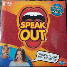 New Hot 2016 Speak Out Game KTV party game cards for party Christmas gift newest best selling toy