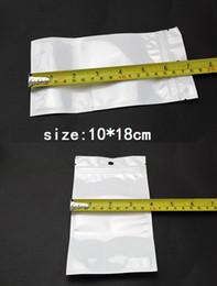 Sac de rangement clair à vendre-10 * 18cm Clear + blanc perle plastique Poly OPP emballage Zip verrouiller paquets de détail USB Bijoux Sac PVC 6 * 10 7 * 10 7.5 * 12 * 8 13 9 * 12 8.5 * 16 9 * 16