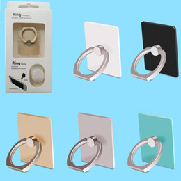 Wholesale Luxury Phone Holder Degree ring Holder hook card holder For Cell Phones Tablets Car iphone card holder with Retail Package