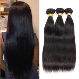 Brazilian Hair bundles real Human Hair Extensions Peruvian Malaysian Indian Hair Straight 7A 3pcs Quality Free Shipping