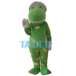 Wholesale-New Wiggles Dorothy The Dinosaur Adult Mascot Costume