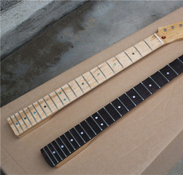 Wholesale Hot Sale Guitar Necks Piece made of Bird Eye Maple One Made from Scalloped Rosewood