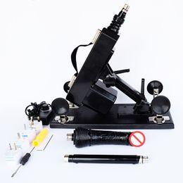 Automatic Sex Machine Gun Cannon Vibrator with Big Dildo Sex Furniture Masturbation Machine For Female Male Move Speed 0-450  minutes