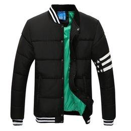 Wholesale new arrival baseball jacket coat AD cotton jackets super star coat winter jacket hoodies wind coat ad plus id