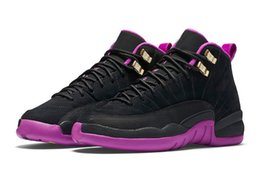 Wholesale Newest Arrival Hyper Violet Retro s Wolf Grey GS Sneakers Women Casual Shoes Big Kids Shoes