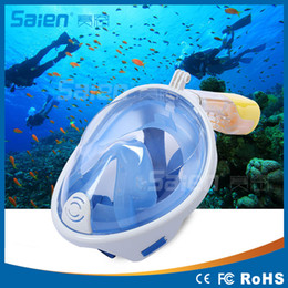 Wholesale 2016 Winmax New Arrival Underwater Scuba mergulho Anti Fog Full Face Diving Mask Snorkeling Set with Earplug and Snorkel