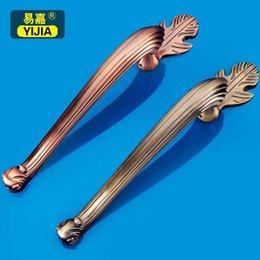 Wholesale Yi Jia European antique door handle store facade hotel customer service KTV box Club glass door handle