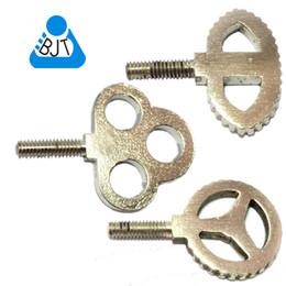 Free Shipping 3 pcs Plum Steel Vise Screw Tattoo Machine Parts Vice Custom Tattoo Machine Gun accessories