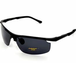 Fankglasses Hot Sale men's car drivers night vision goggles anti-glare polarizer sunglasses Polarized Driving Glasses 8003-30