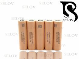 Wholesaler Hot Sale Original lg 18650 li ion battery lg HD2C 18650 2100mah 20A made in korea batteries