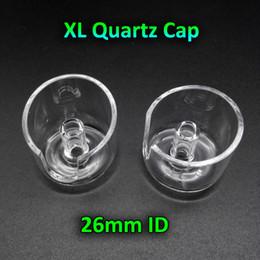 Wholesale!!! 2016 New XL Quartz Banger Carb Cap With 26mm Inner Diameter Suit For Our 25mm OD XL Quartz Banger Nail