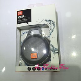 Wholesale CLIP Mini Bluetooth Speaker J B L Clip Plus Portable Outdoor Subwoofer JBL Super Deep Bass Waterproof Speaker with Retail Package In Stock