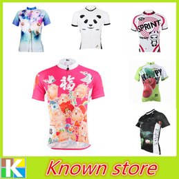 Wholesale 2016 PALADIN Team Ropa Ciclismo Women s Cycling Jersey Riding Clothing Bike Sportwear Bicycle Short Sleeve Top Pig Style